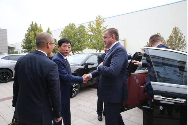 俄羅斯圖拉州政府、俄聯邦工貿部訪問長城汽車