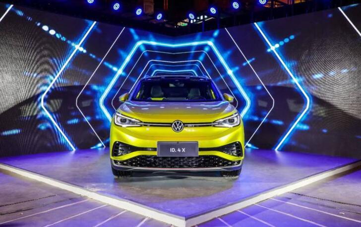 在北京,遇见上汽大众首款MEB中型纯电SUV ID.4 X