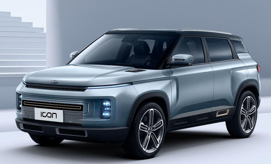 """吉利全新紧凑级SUV""""ICON""""上市 售价11.58-12.88万"""