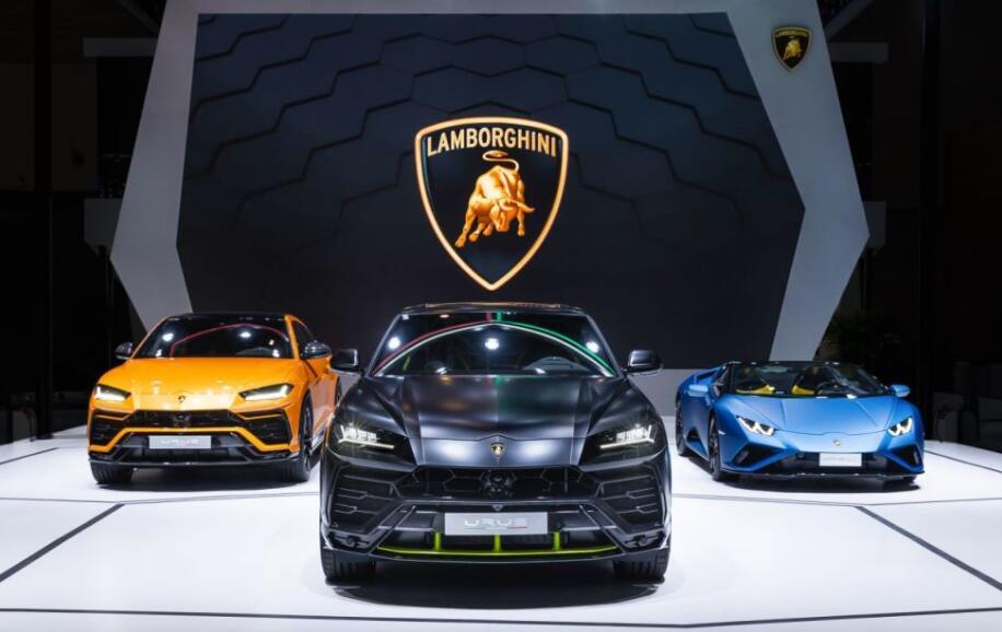 兰博基尼超级SUV Urus全新哑光漆特别版车展全球首发