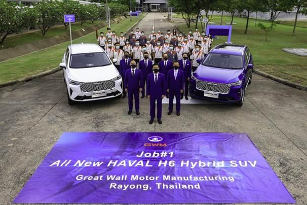 说明: 长城汽车泰国罗勇工厂正式投产