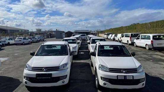 说明: 南非市场行业订单交付现场