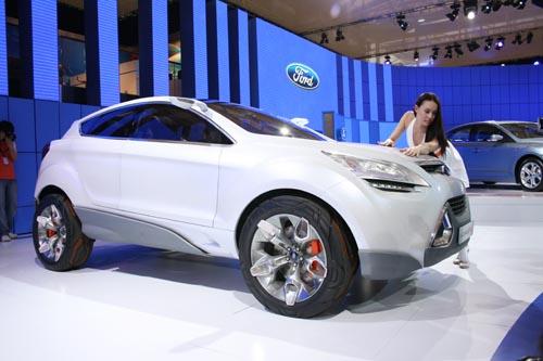 福特新混合车型概念车iosis